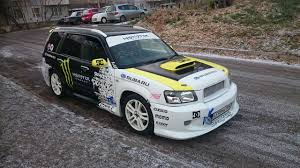 subaru modified modified subaru forester dc shoes tuning