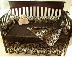 brown cow western cowboy crib bedding