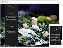 restaurant web design company restaurant website design