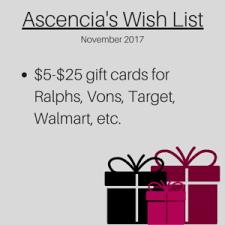 www wish list wish list ascencia glendale ca