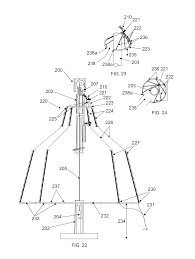 patent us8678615 light strand christmas tree for flagpole