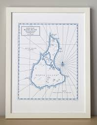 Block Island Map Block Island Map Quail Lane Press