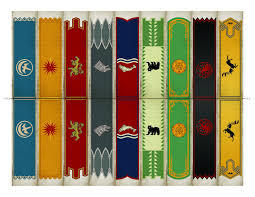 printable game of thrones westeros house banners