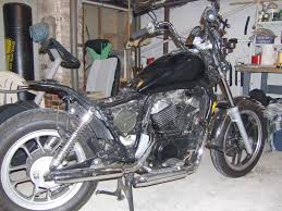started work on my vt500 bobber last night honda shadow forums