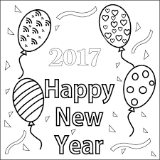 happy new year preschool coloring pages happy new year coloring pages 2017 for preschoolers crafts and
