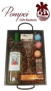 wine basket gifts s time out wine gift basket by pompei baskets