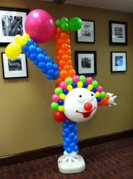 clowns balloons 156 best decoracion con globos images on