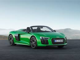 second generation audi r8 the audi r8 v10 plus spyder has arrived business insider