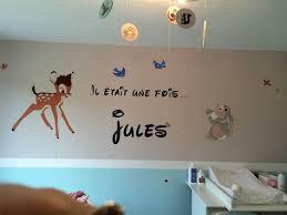 stickers chambre bébé disney theme deco chambre bebe 3 arriv233e de b233b233 dans le monde