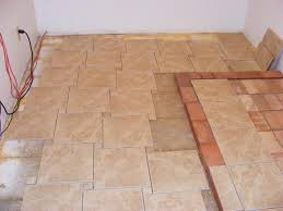 Home Design Ideas Amazing Design Of The Tile Bathroom Floor With - Bathroom tile layout designs