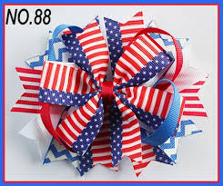 fourth of july hair bows teddy sculpture hair bows style boutique hair bow