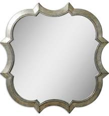Uttermost Mirrors Dealers Uttermost Farista Antique Silver Mirror Mediterranean Wall