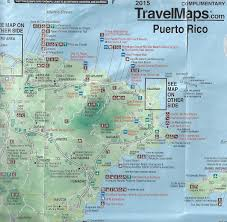 Map Puerto Rico Luquillo Beach Puerto Rico Travel