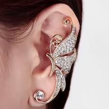 one ear earring one earrings cheap shop fashion style with free shipping