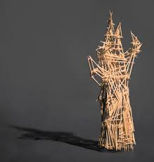 wire and toothpick sculptures to new waves