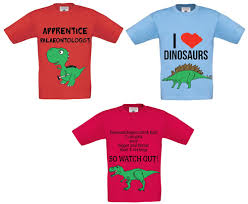 themed t shirts everything dinosaur s exclusive dinosaur themed t shirts