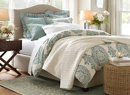 Making A Duvet Cover How To Make A Bed Pottery Barn