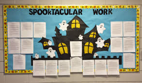 halloween bulletin board idea mrs o knows
