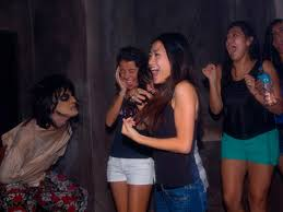 halloween horror nights phone number amusement parks go haunted for halloween haunted travel