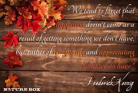 happy thanksgiving naturebox