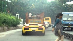 lamborghini sports car price in india lamborghini murcielago spotted in hyderabad india