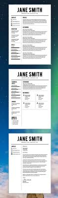 Best Resume Templates Free The 25 Best Resume Templates Free Ideas On