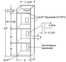 doll house plans making