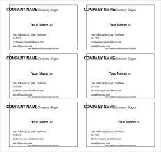 Free Blank Business Card Template For Word 12 Microsoft Word Free Blank Templates Download Free U0026 Premium