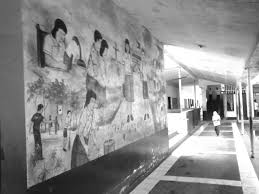 i study because narratives behind the walls of a classroom wall murals are usually visible in public schools such murals contains unique filipino values such