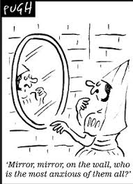 The Beat Mirror In The Bathroom by Looking In The Mirror Does Make You More Anxious About Your Looks