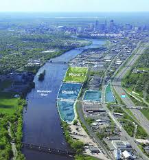 Map Of Minneapolis Upper Harbor Terminal Redevelopment City Of Minneapolis