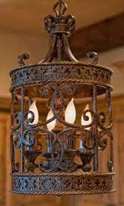 Front Entrance Light Fixtures by Such A Beautiful Iron Ornate Tuscan Pendant Light Fixture Front