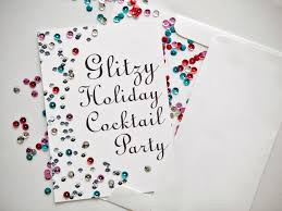 how to make holiday cocktail party invitations hgtv