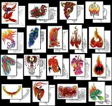 phoenix tattoos what do they mean phoenix tattoos designs