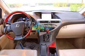 lexus suv 2015 price in dubai 2012 lexus rx 350 full option al futtaim gcc specs used cars