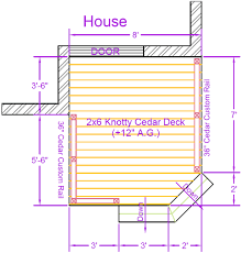 deck plans deck plan contents diy deck plans