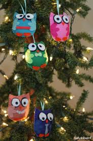 diy owl ornaments free template crafts unleashed