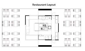 Sample Floor Plan Of A Restaurant Sample Restaurant Floor Plan Layout