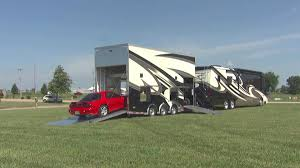 two car garage behind that mansion motorhome amazing rv u0027s