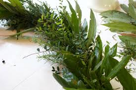Evergreen Home Decor by How To Make A Natural Evergreen Wreath The Everyday Home Garland