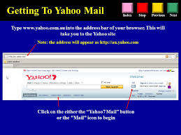 mail yahoo basic yahoo tutorial this tutorial aims to quickly cover some of the basic