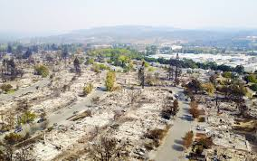 Wildfire Case Drop Rate by Helicopter Footage Shows Devastating Aftermath Of U201ccalifornia U0027s