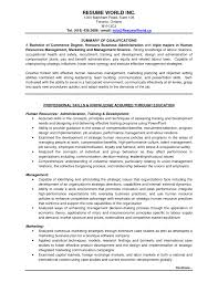 Job Resume Qualifications by Skill Levels For Resume Resume For Your Job Application
