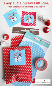 holiday gift ideas snowman gift tags free christmas printables