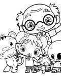 ni hao kai lan coloring pages kids free printable