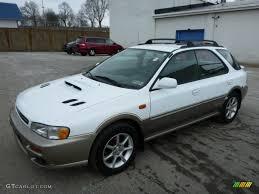 subaru station wagon 2000 2000 aspen white subaru impreza outback sport wagon 78764369