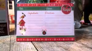dollar tree christmas recipe cards youtube