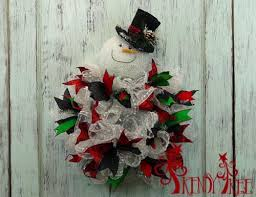 snowman with twig hat wreath tutorial trendy tree