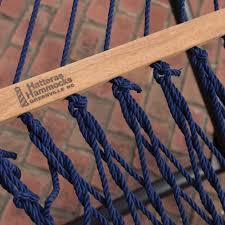 navy deluxe duracord hammock hatteras hammocks