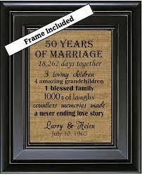 50th wedding anniversary gift 50th wedding anniversary 50th anniversary gifts 50th wedding